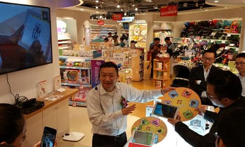上海巴黎春天长寿路乐友全新o2o体验店的母婴智慧
