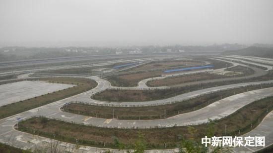 首页 经销商信息 > 正文    位于重庆垫江的长安汽车综合试验场局部.