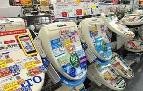 中国人赴日抢购马桶盖.(资料图片)