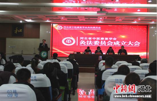 河北省中医康复学会灸法专业委员会在石家庄成