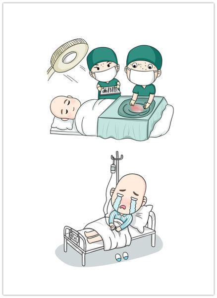 医生人物简笔画卡通版