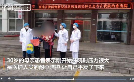 河北保(bao)定首批兩例新(xin)冠肺(fei)炎治愈患者出院
